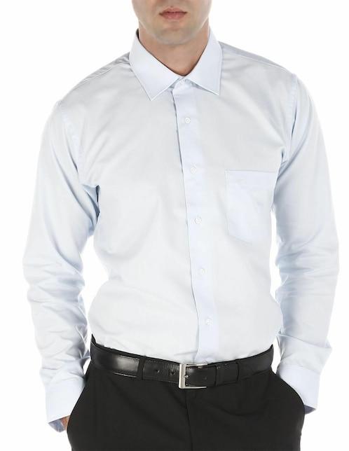 30bda69898 Camisa de vestir John Henry cuello inglés corte regular fit