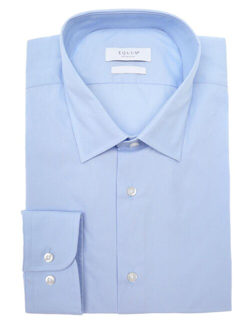 4ad5436719 Camisa de vestir Equus corte slim fit cuello italiano algodón