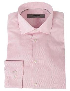 5137e0f15850b Camisa de vestir Givenchy cuello italiano corte sl.