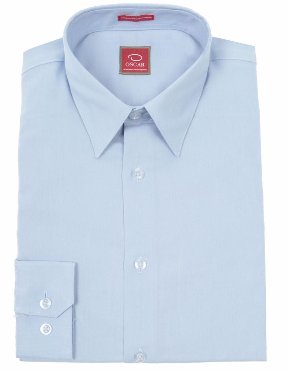 5b3c8c2ffcde0 Camisa de vestir Oscar de la Renta corte regular cuello inglés algodón